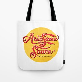 Awesome Sauce (gold) Tote Bag