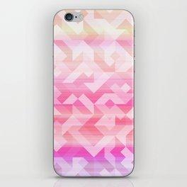Geometric Sunset iPhone Skin