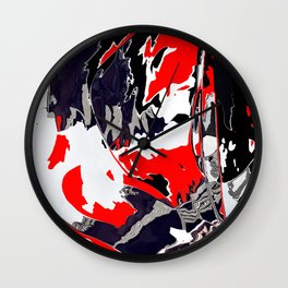 Things are getting Graphic Wall Clock