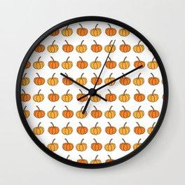Halloween pumpkin Wall Clock