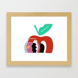 Blub Blub Framed Art Print