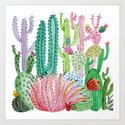 Cactus Illustration by marinasotiriou