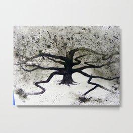 Clenwood  Cemetery Oak Tree Metal Print