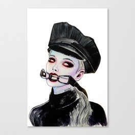 Breath Control Canvas Print