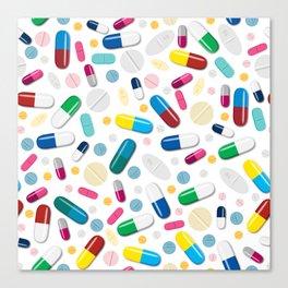 Happy Pills Canvas Print