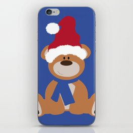 Santa's Teddy iPhone Skin
