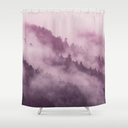 Purple Haze in the Smokey Mountains Shower Curtain