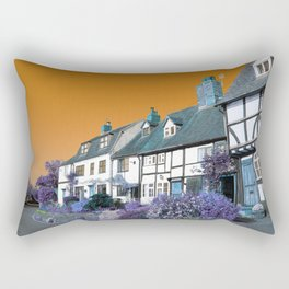 Psychedelic Cottage Rectangular Pillow