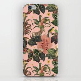 Pink Jungla iPhone Skin