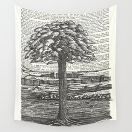 Guardian of the Riverbank Wall Tapestry