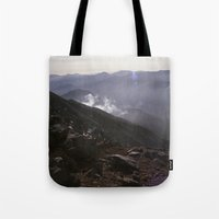 the national Tote Bags featuring Angeles National Forest by Kevin Russ