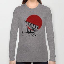 Barna Love Red Sun Long Sleeve T-shirt