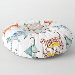 Cat Collection: Watercolor Floor Pillow