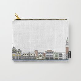 Venice skyline colored Carry-All Pouch