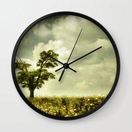 Summer Moodiness Wall Clock