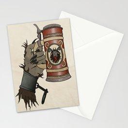 Krampus Stein Stationery Cards