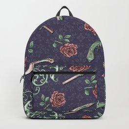 Elegant Guns Knives and Roses Backpack