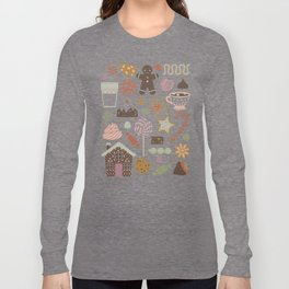 In the Land of Sweets Long Sleeve T-shirt