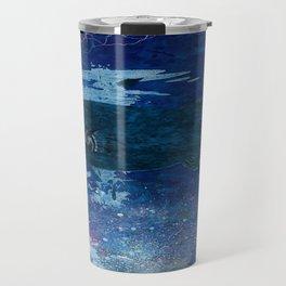 Cosmic fish, ocean, sea, under the water Travel Mug