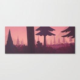 undiscovered - night Canvas Print