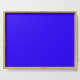 Bright blue Serving Tray