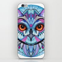 frozen iPhone & iPod Skins featuring Frozen by Ola Liola