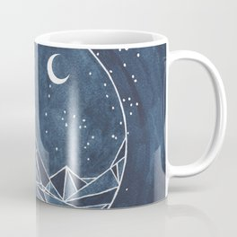 Night Court moon and stars Coffee Mug