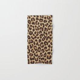 Leopard Print Hand & Bath Towel