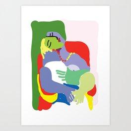 Picasso The Dream Art Print