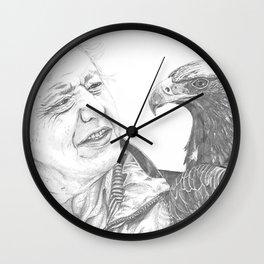 David Attenborough Wall Clock