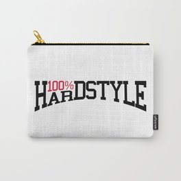 100% Hardstyle Dance Music Quote Carry-All Pouch