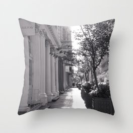Broome Street - New York City Photography Throw Pillow