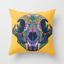 Sugar lynx Throw Pillow