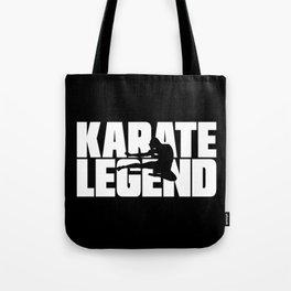 Karate Legend Tote Bag