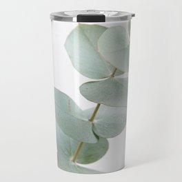 Gentle Soft Green Leaves #1 #decor #art #society6 Travel Mug