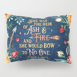 Ash & Fire Pillow Sham