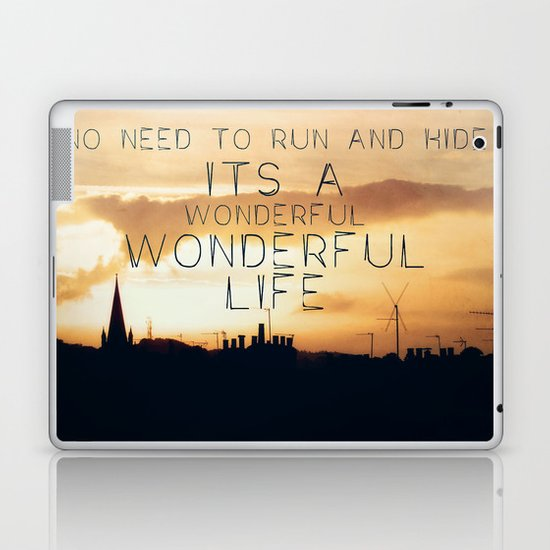 It's A Wonderful Life Laptop & iPad Skin