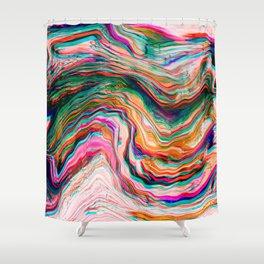 Colour of Deja Vu Shower Curtain