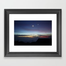 Where Stars are Reachable Framed Art Print
