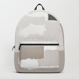 Keyhole Paper Collage Backpack