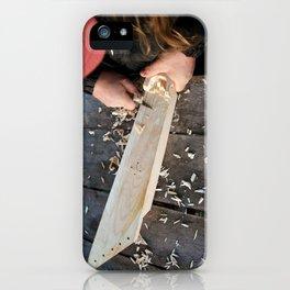 Karelian 5-string Kantele iPhone Case