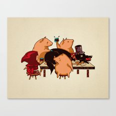 Dinner With Friends Canvas Print