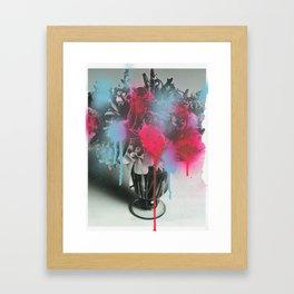 Black Celebration Framed Art Print