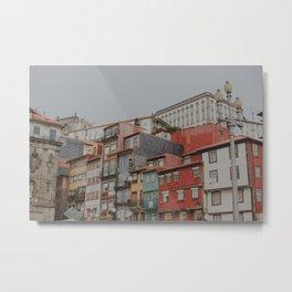 Oporto charming colours Metal Print