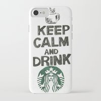 starbucks iPhone & iPod Cases featuring Starbucks by jrgff