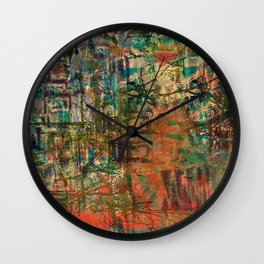 Pointless Conflict Wall Clock
