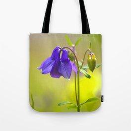 Purple Columbine In Spring Mood Tote Bag