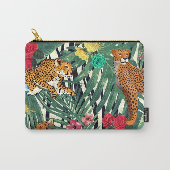 tropical wild  Carry-All Pouch