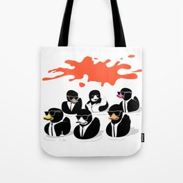 Reservoir Ducks Tote Bag