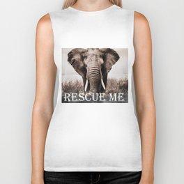 Elephant Rescue Biker Tank